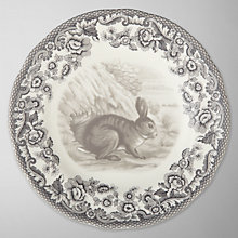 Buy Spode Rural Delamere for John Lewis Rabbit Side Plate, Dia.15cm, Grey Online at johnlewis.com