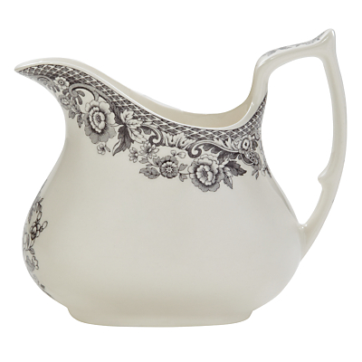 Spode Rural Delamere for John Lewis Creamer, 0.22L, Grey