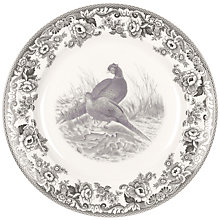 Buy Spode Rural Delamere for John Lewis Buffet Plate, Dia.30cm, Grey Online at johnlewis.com