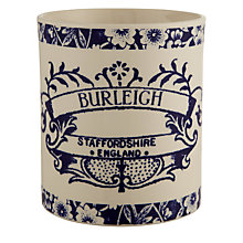 Buy Burleigh Heritage Utensils Pot, H14 x Dia.13cm, Blue Online at johnlewis.com