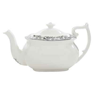 Spode Rural Delamere for John Lewis Teapot, 1.1L, Grey