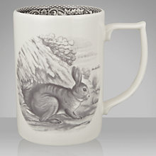 Buy Spode Rural Delamere for John Lewis Hare Mug, 0.35L, Grey Online at johnlewis.com