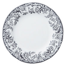 Buy Spode Rural Delamere for John Lewis Dessert Plate, Dia.20cm, Grey Online at johnlewis.com