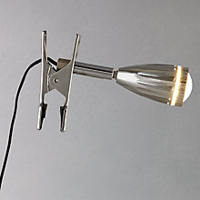 Buy John Lewis Dermot LED Clip Light Online at johnlewis.com