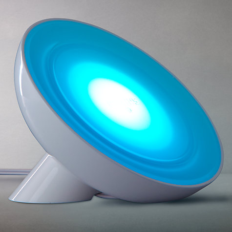 Buy Philips LED LivingColours Bloom Mood Light, White Online at johnlewis.com