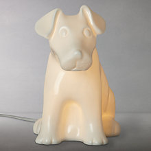 Buy White Dog Children's Lamp Online at johnlewis.com