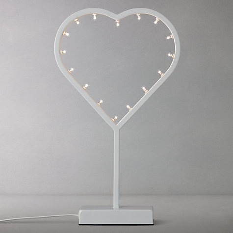 Buy Parlane Decorative Table Heart Light Online at johnlewis.com