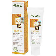 Buy Melvita Prosun High Protection Sunscreen SPF50, 40ml Online at johnlewis.com