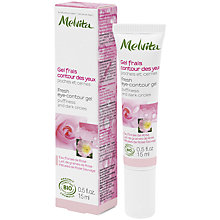 Buy Melvita Rose Fresh Eye-Contour Gel, 15ml Online at johnlewis.com