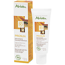 Buy Melvita Prosun High Protection Sunscreen SPF30, 40ml Online at johnlewis.com
