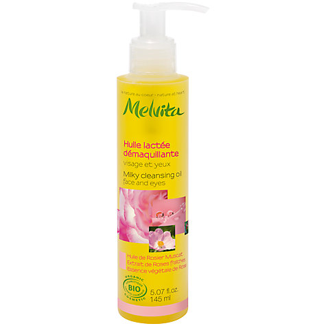 Buy Melvita Milky Facial Cleansing Oil, 145ml Online at johnlewis.com