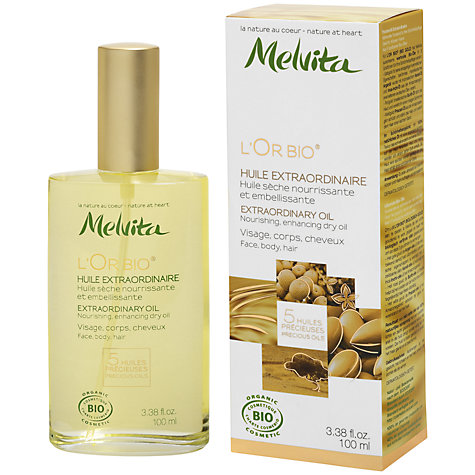 Buy Melvita L'Or Bio Extraordinary Oil, 100ml Online at johnlewis.com
