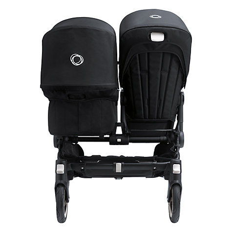 Buy Bugaboo Donkey Duo Extension Set, All Black Special Edition Online at johnlewis.com