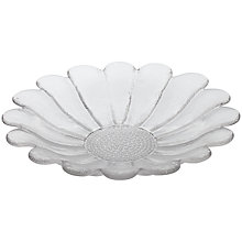 Buy Dartington Crystal Daisy Platter Online at johnlewis.com