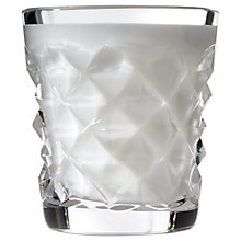 Buy Waterford Diama Scented Candle, Mint and Jasmine Online at johnlewis.com