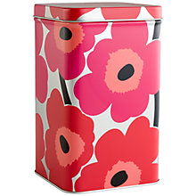 Buy Marimekko Unikko Flower Tall Storage Box Online at johnlewis.com