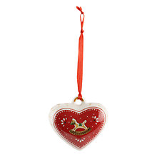 Buy Villeroy & Boch Christmas Heart Decoration Online at johnlewis.com