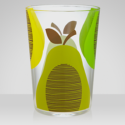 Orla Kiely Pear Acrylic Tumbler