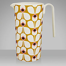 Buy Orla Kiely Wallflower Melamine Pitcher, Candy Online at johnlewis.com