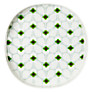 Orla Kiely Wallflower Melamine Tray, Peppermint
