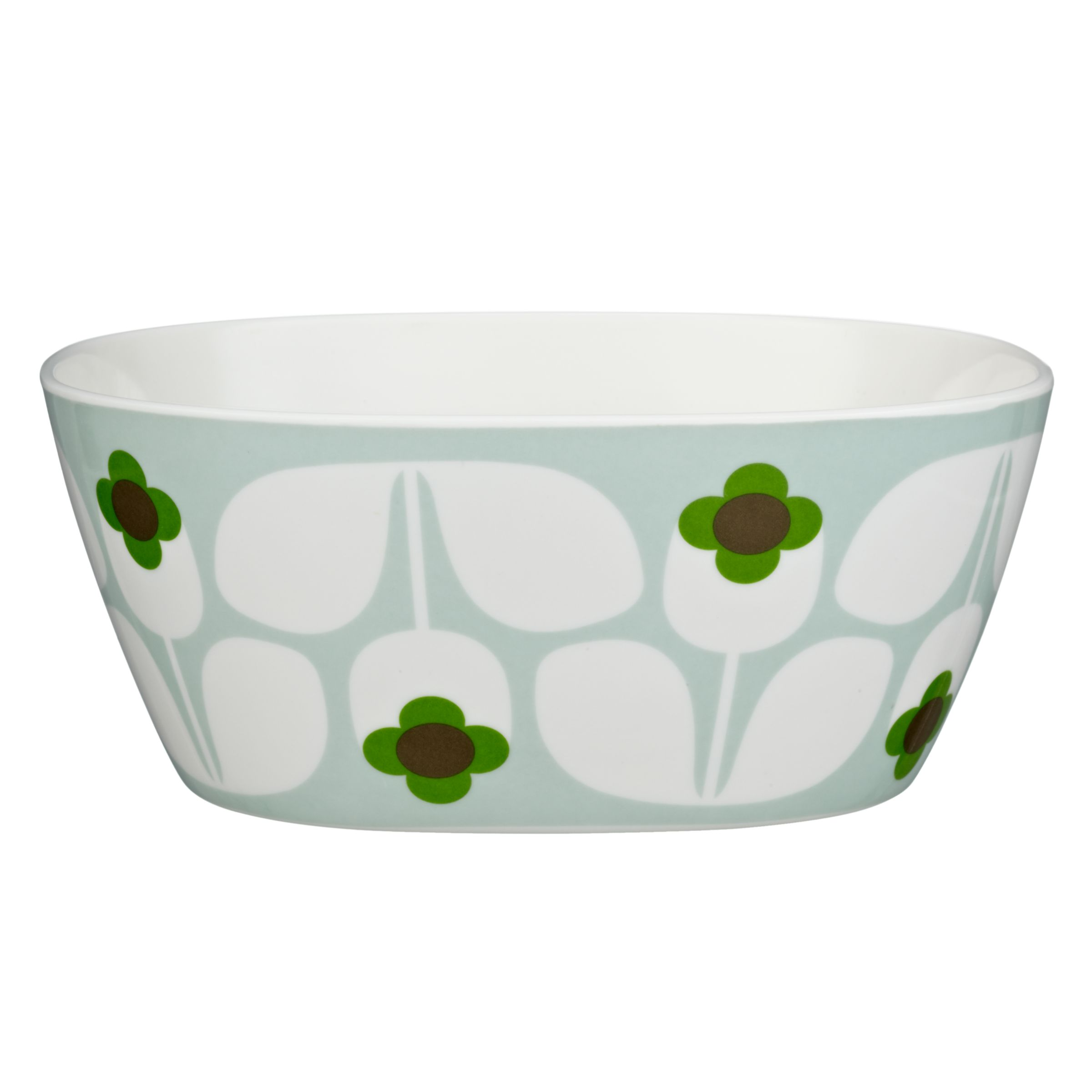 Orla Kiely Wallflower Melamine Bowl, Multi, Small