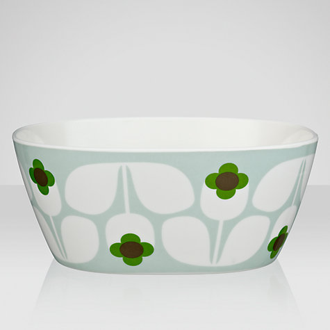 Buy Orla Kiely Wallflower Melamine Bowl, Multi, Small Online at johnlewis.com