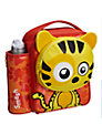 Smash Quirkz Stripes Tiger Lunch Bag, Yellow
