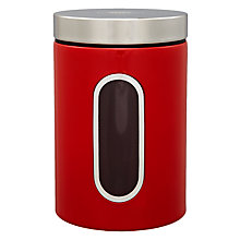 Buy Wesco Steel Kitchen Storage Canister with Window Online at johnlewis.com