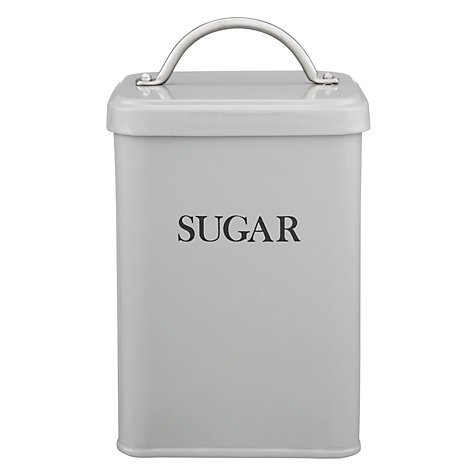 Buy Garden Trading Sugar Canister, Flint Online at johnlewis.com