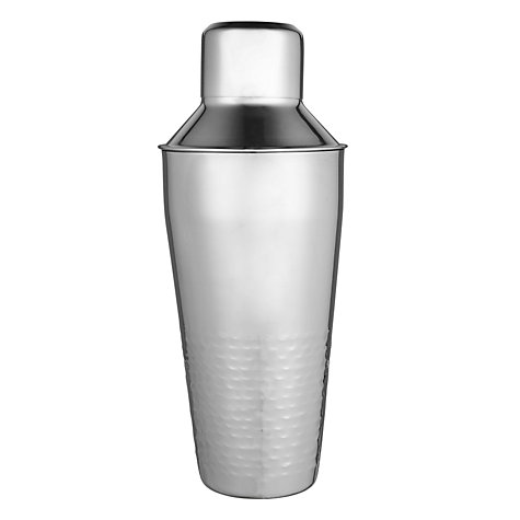 Buy John Lewis Half Hammered Cocktail Shaker Online at johnlewis.com