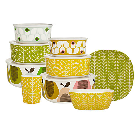 Buy Orla Kiely Linear Stem Picnicware Online at johnlewis.com
