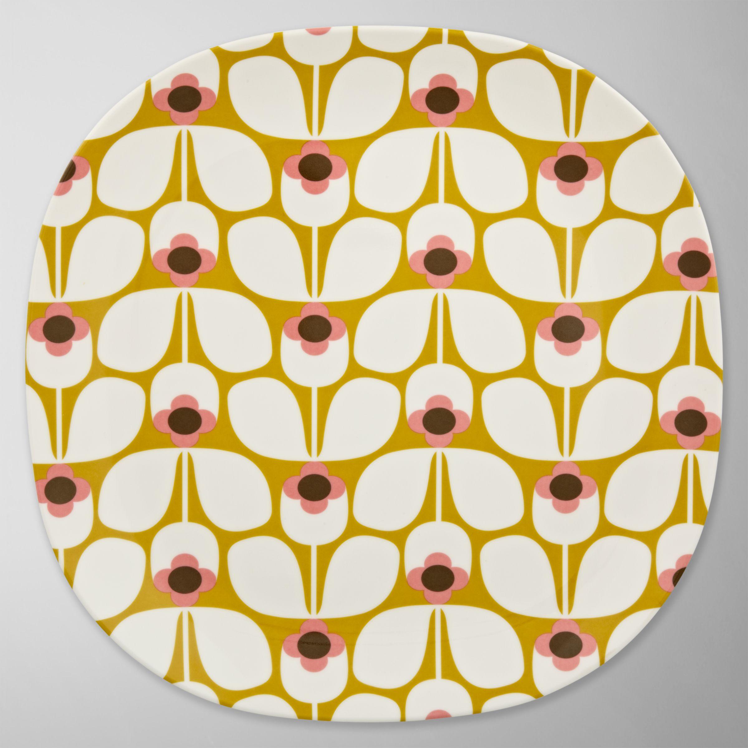 Orla Kiely Melamine Dinner Plate, Dia.26cm
