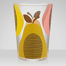 Buy Orla Kiely Pear Acrylic Tumbler Online at johnlewis.com