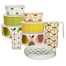 Buy Orla Kiely Wallflower Picnicware Online at johnlewis.com