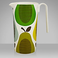 Buy Orla Kiely Melamine Pitcher, Pear Mint Online at johnlewis.com