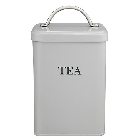 Buy Garden Trading Tea Canister, Flint Online at johnlewis.com