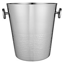 Buy John Lewis Half Hammered Champagne Bucket Online at johnlewis.com