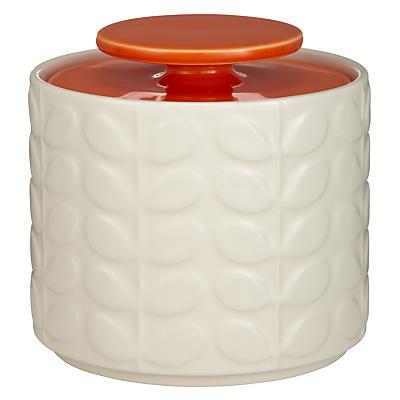 Orla Kiely Raised Stem Ceramic Kitchen Storage Jar, 1L
