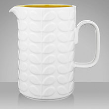 Buy Orla Kiely Raised Stem Pitcher, Yellow Online at johnlewis.com