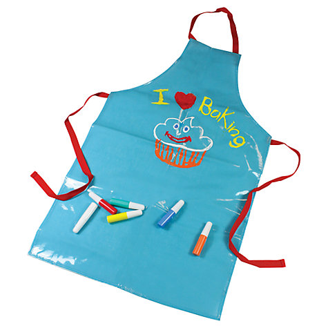 Buy Jamie Oliver Paint Your Own Apron Kit Online at johnlewis.com