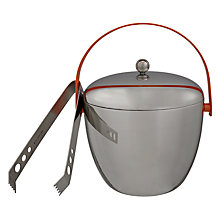 "Buy Royal Doulton ""Pop in for Drinks"" Ice Bucket and Tongs Online at johnlewis.com"