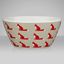 Buy Anorak Proud Fox Melamine Bowl Online at johnlewis.com