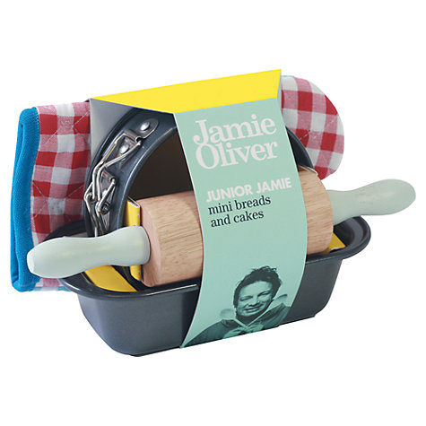 Buy Jamie Oliver Mini Breads and Cakes Kit Online at johnlewis.com