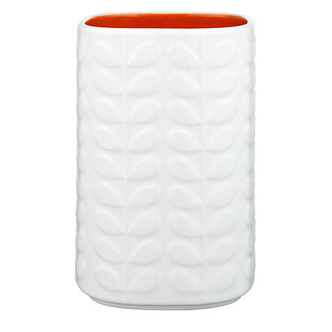 Buy Orla Kiely Raised Stem Utensil Holder, Cream/Orange Online at johnlewis.com