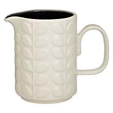 Buy Orla Kiely Raised Stem Milk Jug Online at johnlewis.com