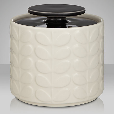 Buy Orla Kiely Raised Stem Ceramic Kitchen Storage Jar, 1L Online at johnlewis.com
