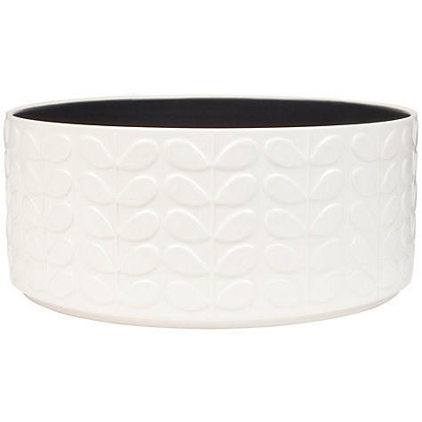 Buy Orla Kiely Raised Stem Salad Bowl Online at johnlewis.com