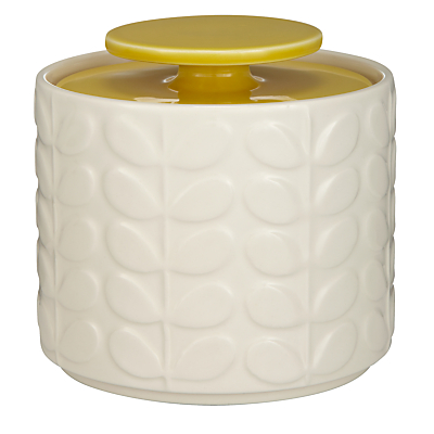 Orla Kiely Raised Stem Ceramic Kitchen Storage Jar, 1L