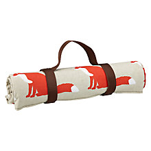 Buy Anorak Proud Fox Picnic Rug, L145cm Online at johnlewis.com