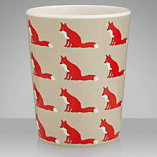 Buy Anorak Proud Fox Melamine Beaker Online at johnlewis.com